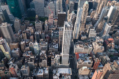 Antenne de New York Photos stock