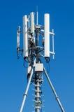 Antenne de réseau de téléphone portable Photographie stock libre de droits