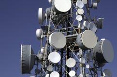 Antenne de réseau de téléphone portable Photo libre de droits