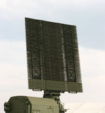 Antenne de radar militaire Photographie stock libre de droits