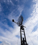 Antenne de radar militaire Photos libres de droits