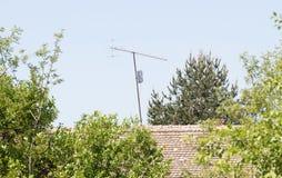 Antenne de radio/télévision images libres de droits