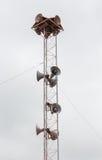 Antenne de radiodiffusion Photographie stock