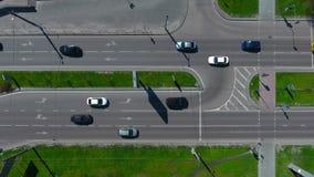 Antenne de route urbaine clips vidéos