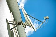 Antenne de satellite photographie stock libre de droits