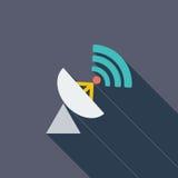 Antenne de satellite illustration de vecteur