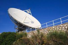 Antenne de satellite de puissance élevée Photographie stock
