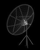 Antenne de satellite, numérique Image libre de droits