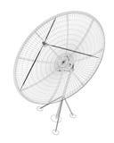 Antenne de satellite, numérique Images libres de droits