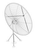 Antenne de satellite, numérique Photographie stock