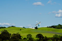Antenne de satellite recherchant Photos stock