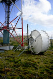 Antenne de signal de téléphone portable Images stock