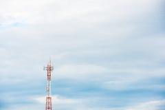 Antenne de télécommunication Images libres de droits