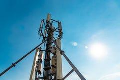 Antenne de téléphone image stock