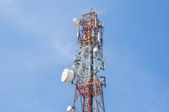 Antenne de téléphone image libre de droits