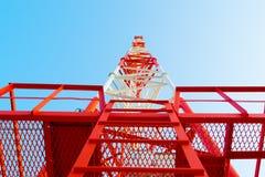 Antenne de téléphone Images libres de droits