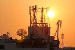 Antenne de téléphone portable Photo stock