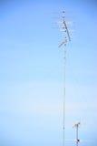 Antenne de télévision Image libre de droits
