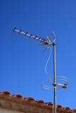 Antenne de télévision photo stock