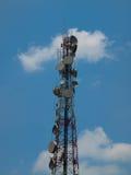 Antenne de tour de télécommunication Photos libres de droits