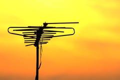 Antenne de TV images libres de droits