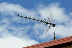 Antenne de TV photos libres de droits