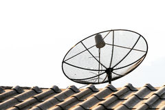 Antenne de TV Photo stock