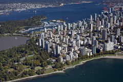 Antenne de Vancouver photo stock