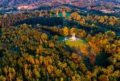 Antenne de Vilnius photographie stock libre de droits
