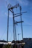 Antenne della TV Immagine Stock
