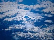 Antenne der Alpen Stockbild