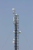 Antenne di Telecomunications Fotografia Stock Libera da Diritti