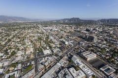 Antenne du nord d'après-midi de Hollywood Images stock