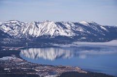 Antenne du sud du lac Tahoe photos stock