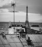 Antenne e Eiffels Fotografia Stock