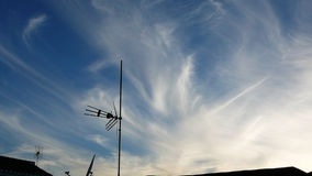 Antenne et le Jetstream Photos libres de droits