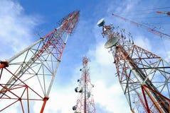 Antenne Fernsehapparat stockfotografie