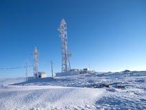 Antenne figée de télécommunications Images stock