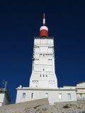 Antenne am Gipfel der Montierung Ventoux, Frankreich Lizenzfreie Stockfotos