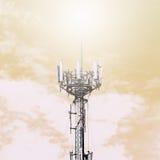 Antenne am Himmel lizenzfreie stockbilder