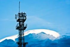 Antenne op de wolk Stock Afbeelding