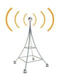 Antenne par radio illustration stock