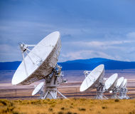 Antenne par radio photographie stock