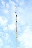 Antenne par radio photographie stock libre de droits