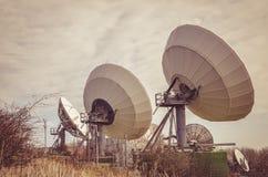 Antenne parabolique énorme Photo stock