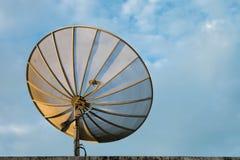 Antenne parabolique Photographie stock libre de droits