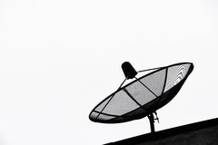 Antenne parabolique Photographie stock libre de droits