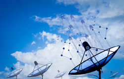 Antenne parabolique illustration stock