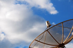 Antenne parabolique pour la TV Photos libres de droits