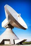 Antenne parabolique - radiotélescope image stock